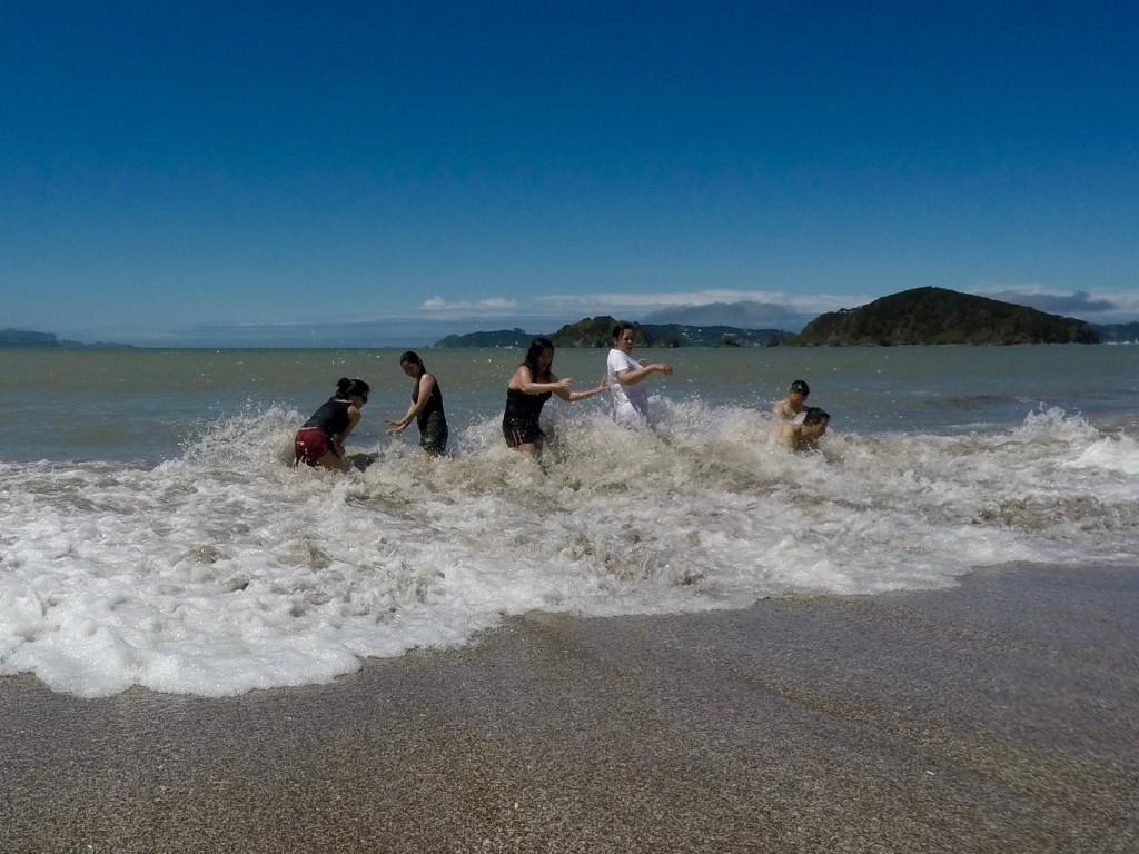 Paihia Beach in Te Ti Bay