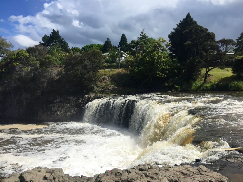 Northland Scape – Whangarei Falls, Haruru Falls, Waitangi River and Bream Bay