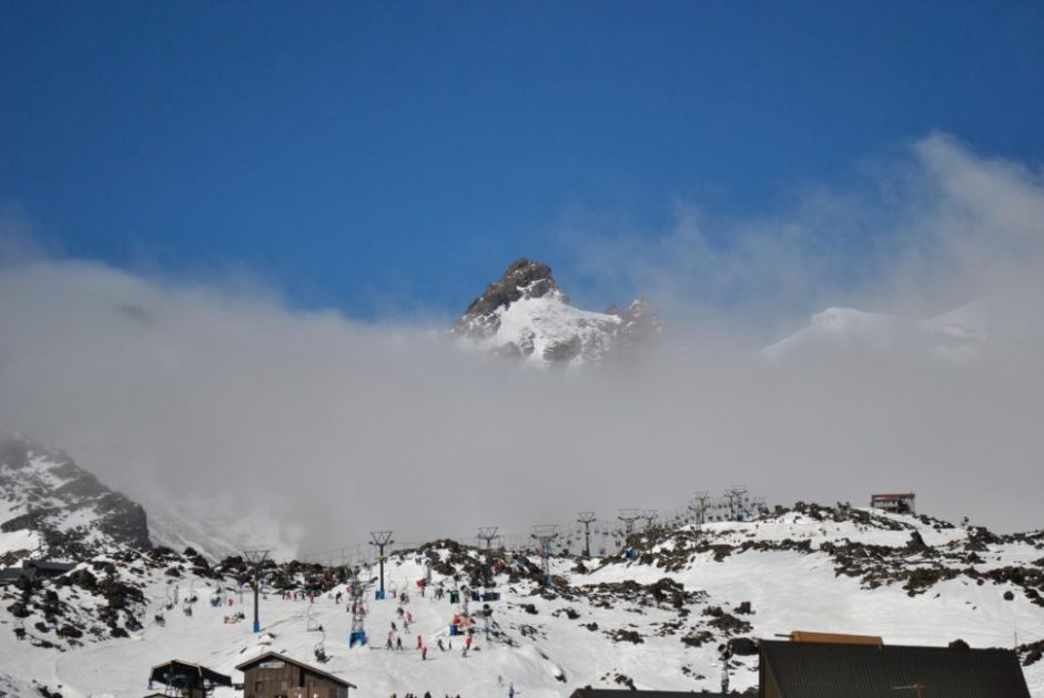 Mount Ruapehu Snow Peaks at Whakapapa – NZ Largest Ski Area